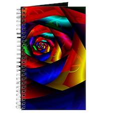 """""""Dark Flower"""" Fractal Art Journal"""