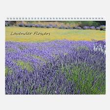 Wall Calendar-Lavender Flowers