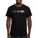 Retired Part Time PITA Men's Fitted T-Shirt (dark)