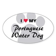 Love My Portuguese Water Dog Decal