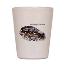 Spotted Salamander Shot Glass