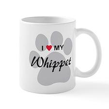 I Love My Whippet Mug