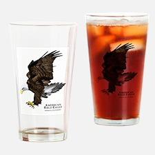 American Bald Eagle Drinking Glass