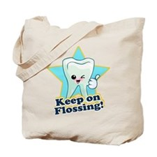 Dentist Dental Hygienist Teeth Tote Bag