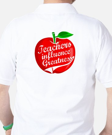 Education Teacher School Golf Shirt