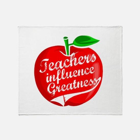Education Teacher School Throw Blanket