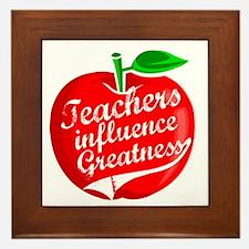 Education Teacher School Framed Tile