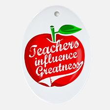 Education Teacher School Ornament (Oval)