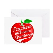 Education Teacher School Greeting Card