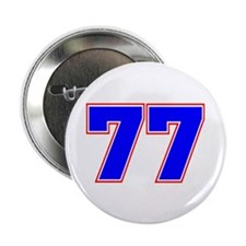 """NUMBER 77 2.25"""" Button (10 pack)"""