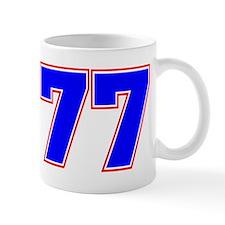 NUMBER 77 Mug