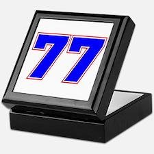 NUMBER 77 Keepsake Box
