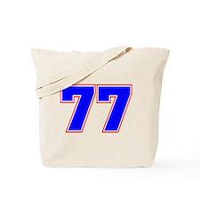 NUMBER 77 Tote Bag
