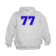 NUMBER 77 Hoodie