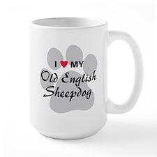 Love My Old English Sheepdog Mug