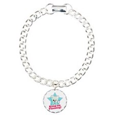 Dentist Dental Hygienist Teeth Charm Bracelet, One