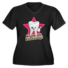 Dentist Dental Hygienist Teeth Women's Plus Size V