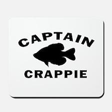 CAPTAIN CRAPPIE Mousepad