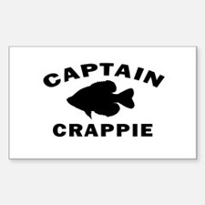 CAPTAIN CRAPPIE Decal