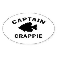CAPTAIN CRAPPIE Decal