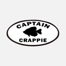 CAPTAIN CRAPPIE Patches