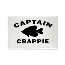 CAPTAIN CRAPPIE Rectangle Magnet