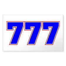 777 GOD Decal