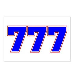777 GOD Postcards (Package of 8)