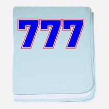 777 GOD baby blanket