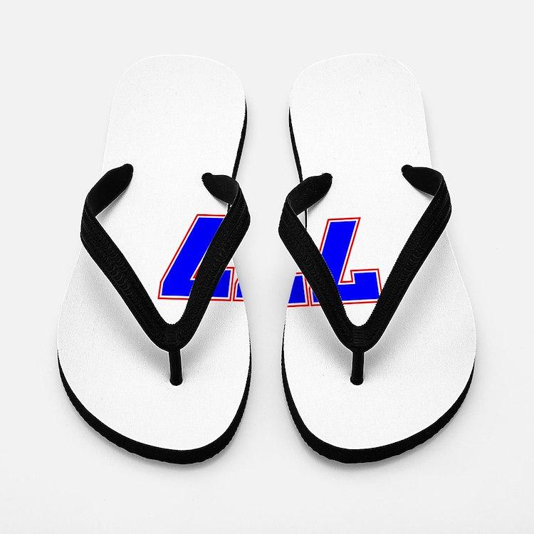 777 GOD Flip Flops