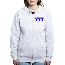 777 GOD Zip Hoodie