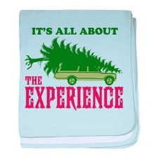 The Experience baby blanket