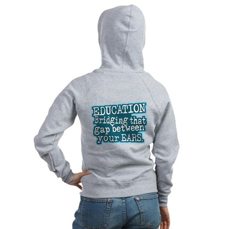 Teacher Education School Women's Zip Hoodie