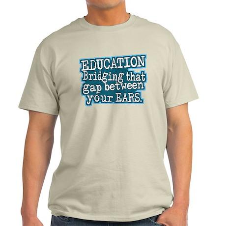 Teacher Education School Light T-Shirt