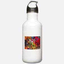 Open microphone Non Stop Musi Water Bottle