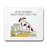 Internet Dog Mousepad