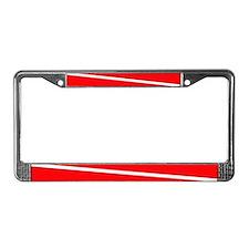 Scuba License Plate Frame