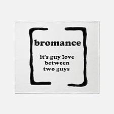 Bromance Throw Blanket