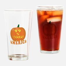 occupy america pumpkin 3D Drinking Glass