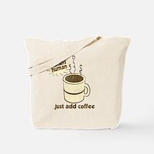 Funny Retro Coffee Humor Tote Bag