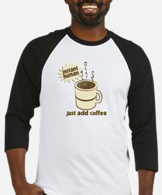 Funny Retro Coffee Humor Baseball Jersey