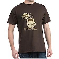 Funny Retro Coffee Humor T-Shirt