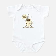 Funny Retro Coffee Humor Infant Bodysuit