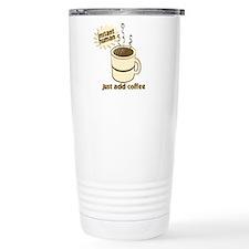 Funny Retro Coffee Humor Travel Mug