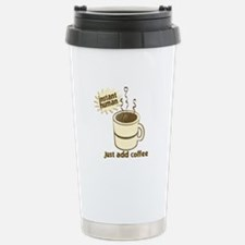 Funny Retro Coffee Humor Travel Mug