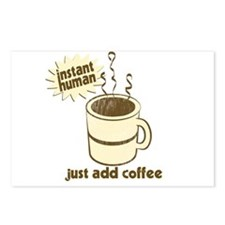 Funny Retro Coffee Humor Postcards (Package of 8)