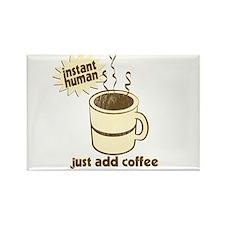 Funny Retro Coffee Humor Rectangle Magnet