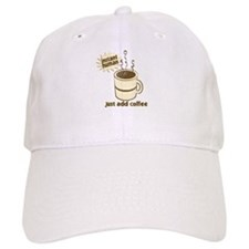 Funny Retro Coffee Humor Baseball Cap