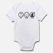 Eat Sleep Kayak Infant Bodysuit