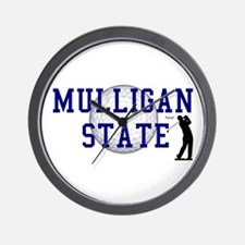 MULLIGAN STATE Wall Clock
